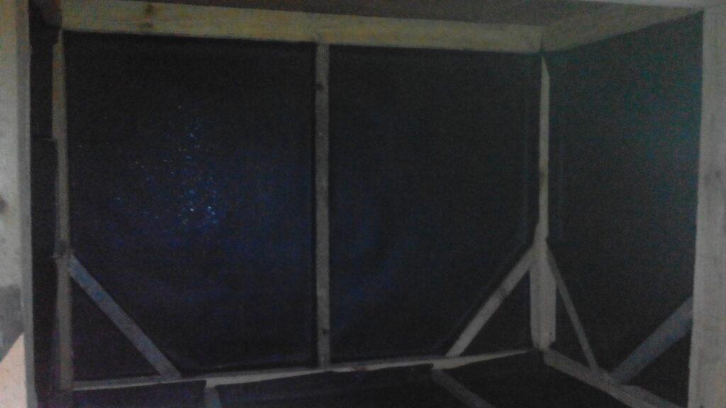 утепление стен курятника фото