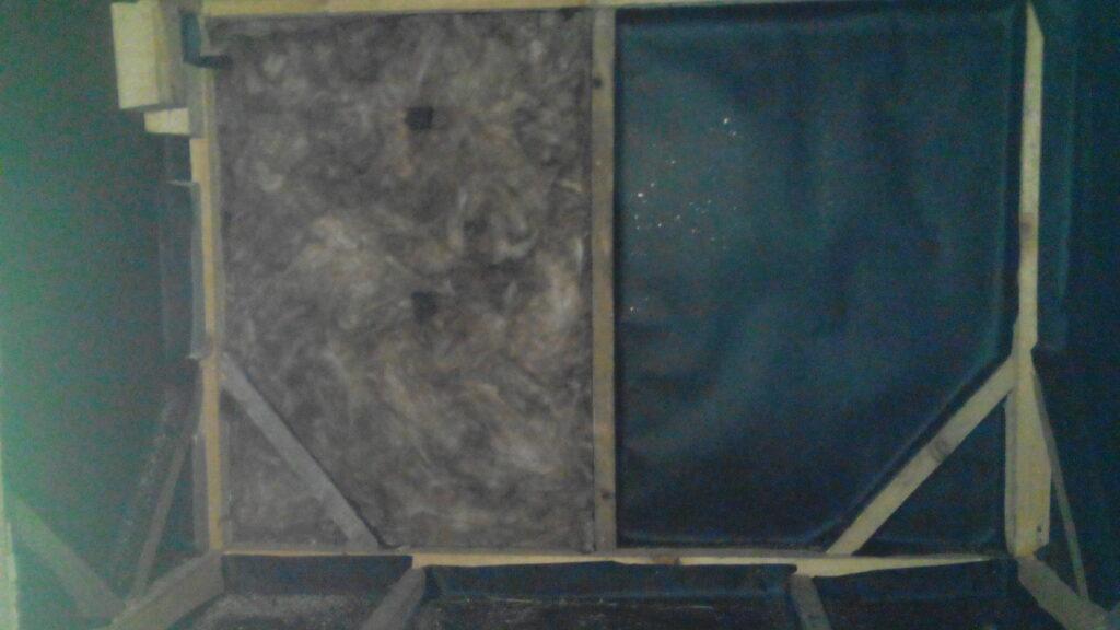 утепление стен курятника минватой фото